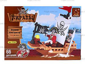 Конструктор для детей «Пираты», 66 деталей, 27303, отзывы