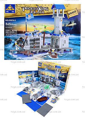 Детский конструктор «Пиратский остров», 365 деталей, KY87012
