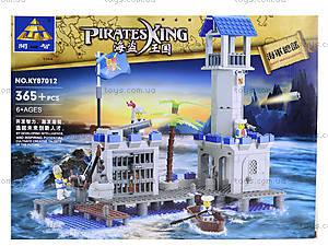 Детский конструктор «Пиратский остров», 365 деталей, KY87012, отзывы