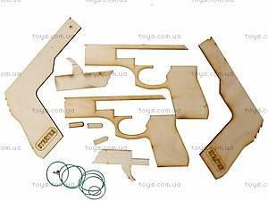 Деревянный конструктор-пистолет «Модель S1», 401, игрушки