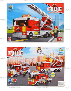 Конструктор пожарная машина, TS30111A