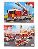 Конструктор пожарная машина, TS30111A, отзывы
