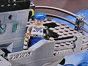 Конструктор «Ракетный крейсер», 821, игрушки