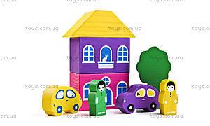Конструктор «Разноцветный городок», 8688-2, купить