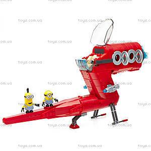 Конструктор Mega Bloks «Реактивный самолет Суперзлодея», CNF60, отзывы