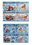Конструктор Rescue транспорт, в ассортименте, 603041-44, Украина