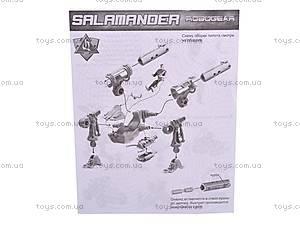 Конструктор Robogear «Саламандра», 568, игрушки