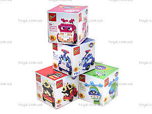 Детский конструктор «Робокар Поли», 9801-1-4, купить