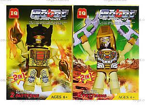 Детский конструктор «Воинственный робот», 830014-21, купить