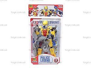 Конструктор-робот «Police Legend», 2014-2