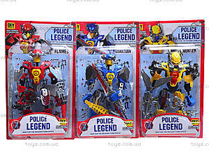 Конструктор «Робот Police Legend», 2014-3
