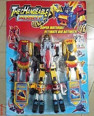 Конструктор-робот «Трансформер», 10752