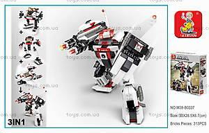 Конструктор «Робот-трансформер», 313 элементов, M38-B0337, купить