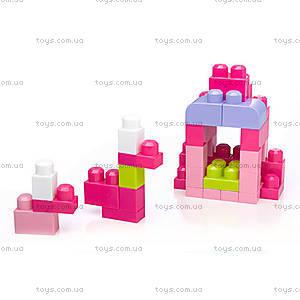 Конструктор Mega Bloks «Розовый», 80 деталей, DCH62, фото