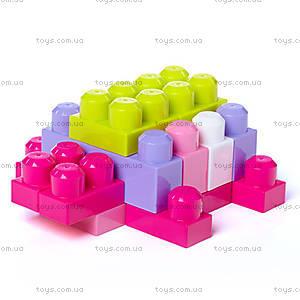 Конструктор Mega Bloks «Розовый», 80 деталей, DCH62, цена