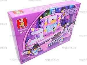 Конструктор «Розовая мечта», 369 деталей, M38-B0253R