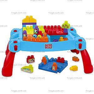 Детский конструктор Mega Bloks «Развивающий столик», CNM42, купить