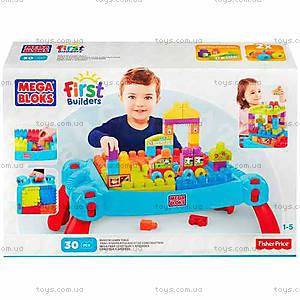 Детский конструктор Mega Bloks «Развивающий столик», CNM42