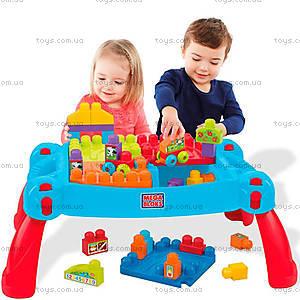 Детский конструктор Mega Bloks «Развивающий столик», CNM42, цена