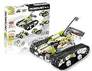 Конструктор на радиоуправлении SDL Tank 402 детали, SDL-2017A-31, детские игрушки