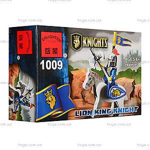 Конструктор «Рыцарь на лошади», 19 деталей, 1009
