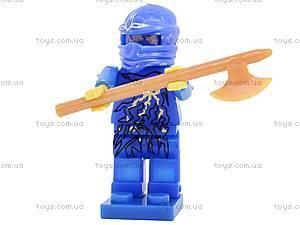 Конструктор с башней «Ниндзя», 9109A, іграшки