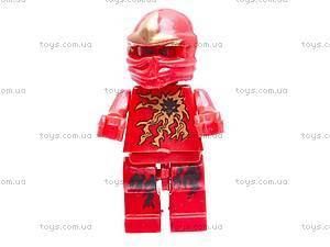 Конструктор с башней «Ниндзя», 9109A, игрушки