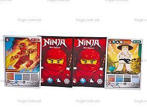 Конструктор с башней «Ниндзя», 9109A, магазин игрушек
