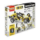 Конструктор с электродвигателем Inventor Motorized «120 в 1», 12030
