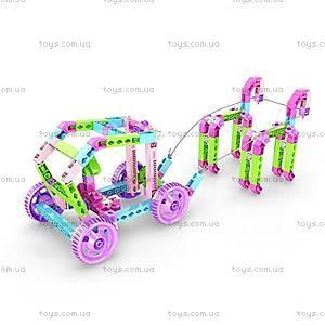 Конструктор с электродвигателем Inventor Princess MOTORIZED «30 в 1», IG30, детские игрушки