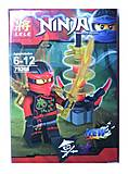 Конструктор с героем Ninjago, 8 видов, 79261, фото