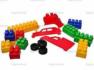 Конструктор с крупными блоками, 310 элементов, 0533, фото