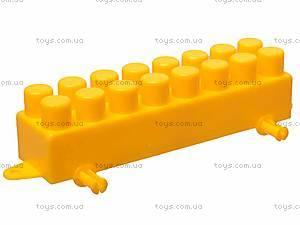 Конструктор с крупными блоками, 310 элементов, 0533, игрушки