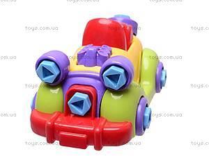 Конструктор с отверткой «Машина», 1264, игрушки
