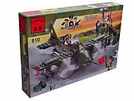 Конструктор «Самолет», 225 элементов, 810, игрушка