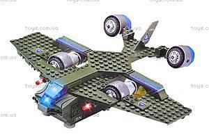 Конструктор «Самолет-бомбардировщик», 220 деталей, 81006