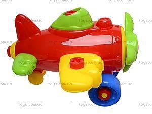 Конструктор «Самолетик», RG6605-1, игрушки