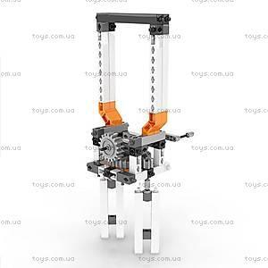 Конструктор серии STEM «Механика: шестерни и червячная передача», STEM05, игрушки
