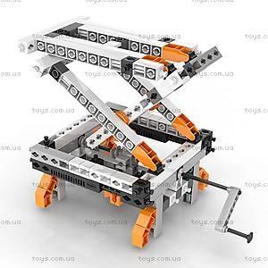 Конструктор серии STEM «Механика: шестерни и червячная передача», STEM05, детские игрушки