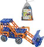 Конструктор серии «Изобретатель» с трактором, 55064