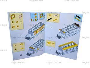 Конструктор «Школа и школьный автобус», M38-B0333R, фото
