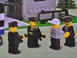 Конструктор «Штаб полиции», 110, игрушки