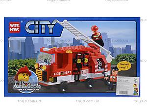 Конструктор «Пожарная машина», 171 деталь, 89004, купить