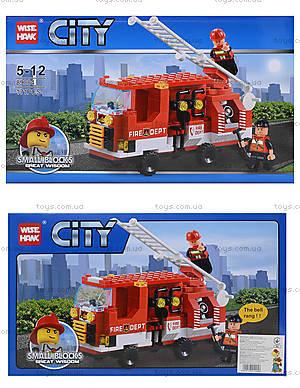 Конструктор «Пожарная машина», 171 деталь, 89004