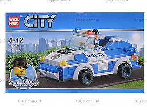 Конструктор для малышей «Полицейская машина», 81003, купить