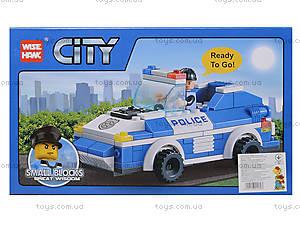 Конструктор для малышей «Полицейская машина», 81003, фото