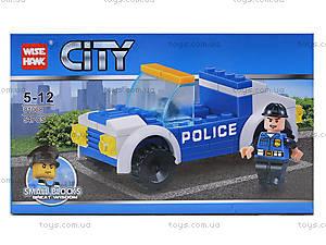 Конструктор для детей «Полицейская машина», 54 детали, 81008, отзывы