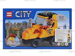 Детский конструктор «Строительная техника», 73 детали, 82001, купить