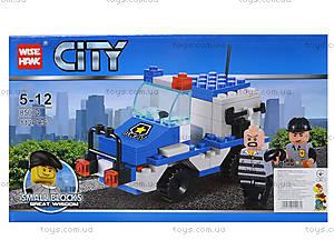 Детский конструктор «Патрульный транспорт», 85004, купить
