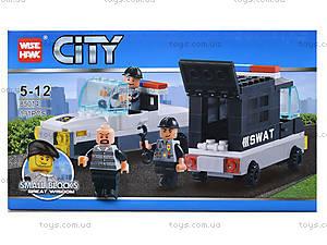 Конструктор «Полицейский транспорт», 85014, купить